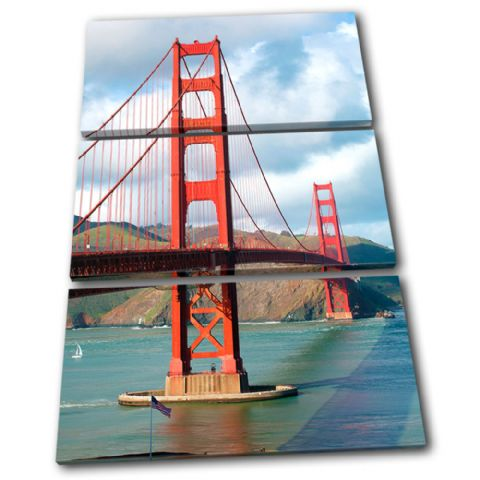 Golden Gate Bridge Landmarks - 13-0110(00B)-TR32-PO